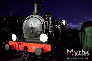 The haunted loco 'Calbourne'